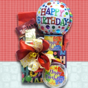 Bookworm's Birthday Gift Basket imagerjs