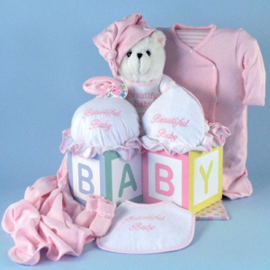 Beautiful Baby Girl Gift Set imagerjs