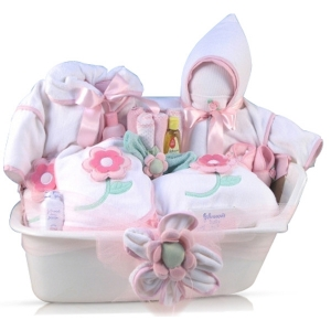 Baby Bath Time Gift Tub imagerjs