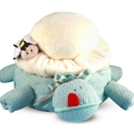 Turtle Towel and Blanket Baby Gift
