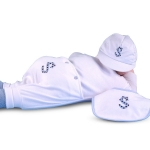 Monogrammed Three Piece Baby Outfit