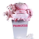 Prince or Princess Layette Baby Gift Basket