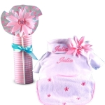 Little Flowers Personalized Baby Gift
