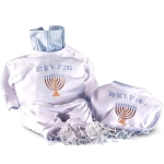 First Chanukah Personalized Baby Set