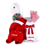 Personalized Baby Christmas Outfit - Boy or Girl