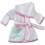 Personalized Flower Bath Cover-Up