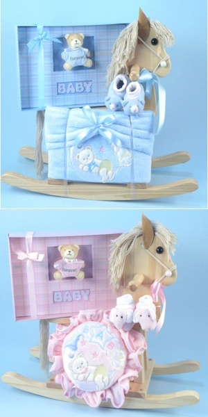 Forever Baby Album and Horse Gift - Boy or Girl imagerjs