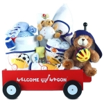 Deluxe Newborn Sports Welcome Wagon