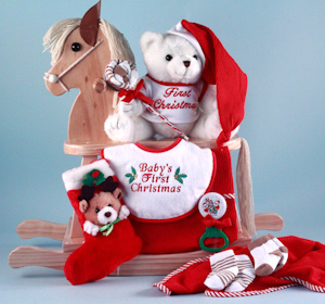 First Christmas Rocking Horse Gift imagerjs