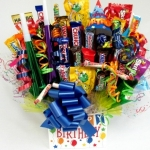 Birthday Blast Candy Bouquet