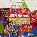 It's A Party! Birthday Candy Gift Tote