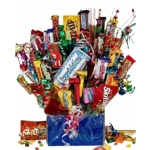 Choose Your Sentiment Candy Bouquet