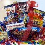 Blow Out The Candles Birthday Candy Gift Basket