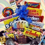 Blast From the Past Retro Candy Gift Basket