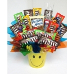 M&M Extravaganza Candy Bouquet