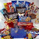 Cookies & Candy Snack Gift Box