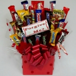 Forgive Me? Apology Candy Gift Bouquet