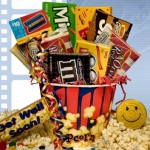 Get Well Movie Gift Basket