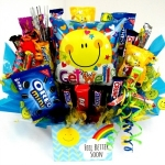 Sunshine & Smiles Get Well Candy Bouquet