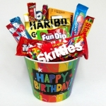 Celebrate The Day! Birthday Candy Gift Basket