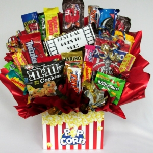 Father Of The Year Candy Bouquet Arrangement imagerjs
