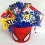 Spiderman Candy Bucket Gift