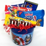 Avengers Captain America Candy Gift Bucket