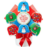 Ugly Christmas Sweater Cookie Bouquet