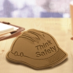Think Safety Chocolate Hard Hat (Case of 50)