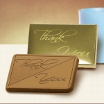 Thank You Chocolate Bars in Gold Box (Case of 50)