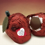 An Apple A Day Dark Chocolate Apples (Case of 16)