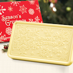 Snowflake White Chocolate Peppermint Bar (Case of 5)