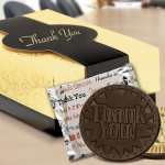 Chocolate Thank You Cookie Gift Box (Case of 8)