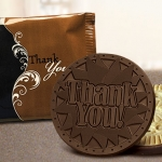 Dark Chocolate Thank You Cookies (Case of 50)