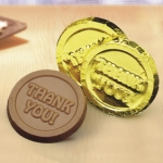 Milk Chocolate Thank You Coins (Case of 250)