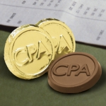 CPA Milk Chocolate Coins (Case of 250)