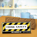 Think Safety Chocolate Bar (Case of 50)