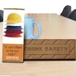 It Can't Hurt To Be Too Safe Chocolates (Case of 50)