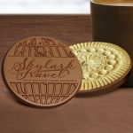 Custom Logo Chocolate Topped Sugar Cookie Favors