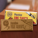 Fire Safety Chocolate Bars (Case of 50)