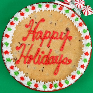 Happy Holiday Big Cookie imagerjs