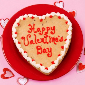 Big Valentine's Day Heart Cookie imagerjs