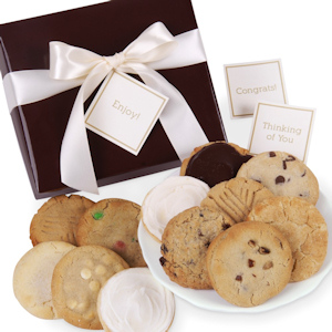 Chocolate Brown Cookie Gift Box for Any Occasion imagerjs