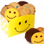 Happy Faces Cookie Gift Box