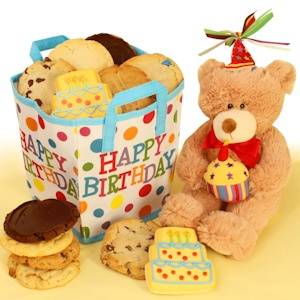 'Bear E. Special' Birthday Cookie Bag imagerjs