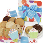Colorful Circles Cookie Gift Box