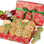 Holiday Candy Cane Cookie Box