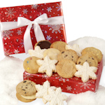 Glistening Snowflake Cookie Box