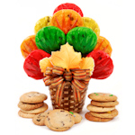 Fall Leaf Cookie Bouquet