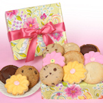 Blooming Flower Cookie Gift Box